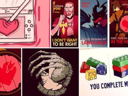 21+ geek kartek walentynkowych [+ DARMOWE SZABLONY]
