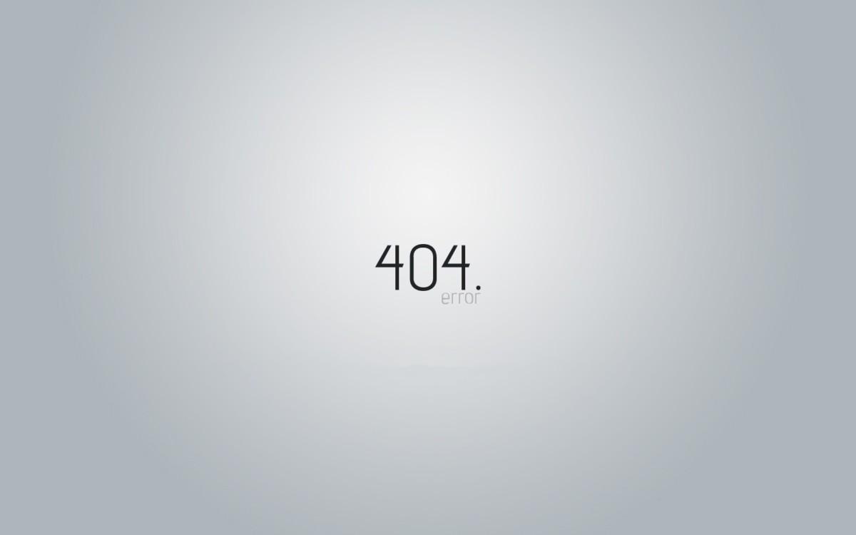 Tapeta geek 404