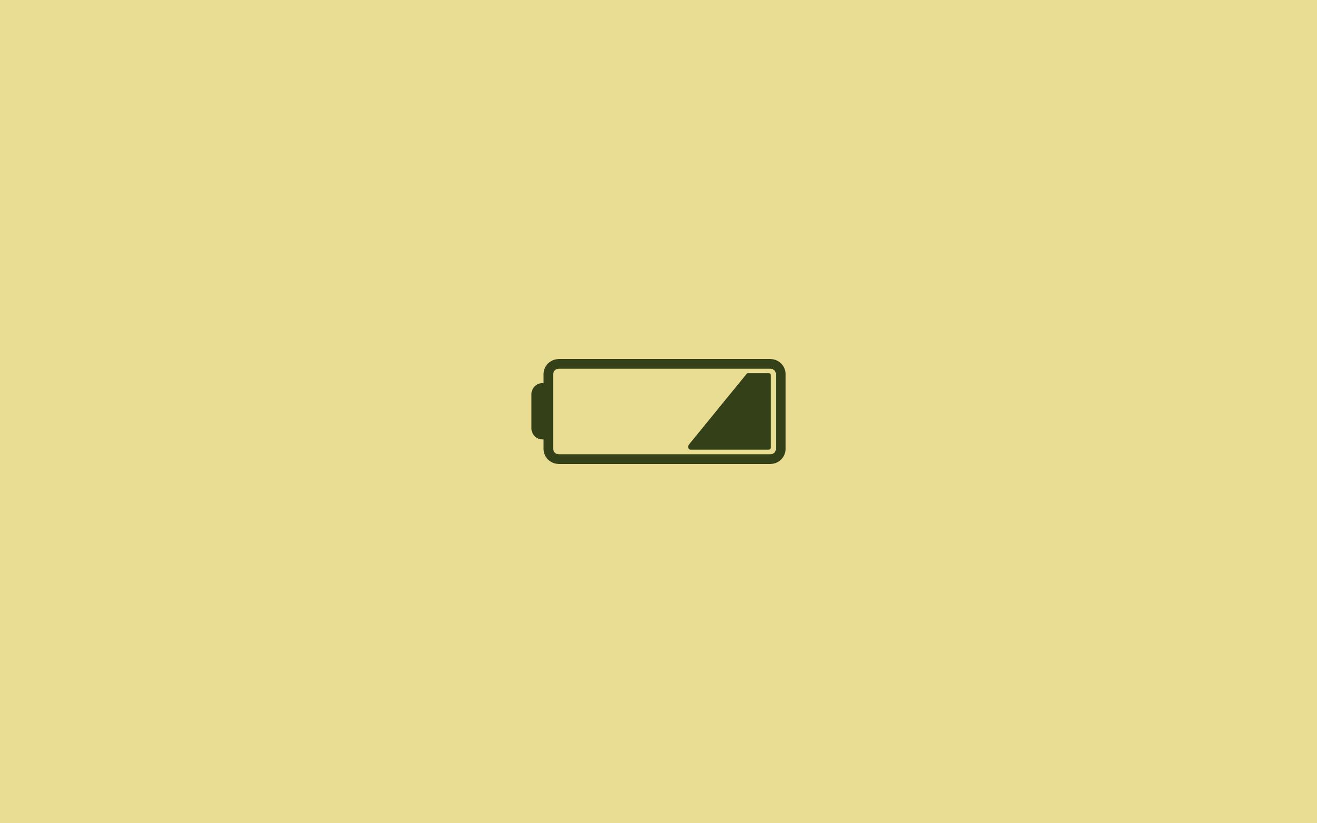 Tapeta low battery