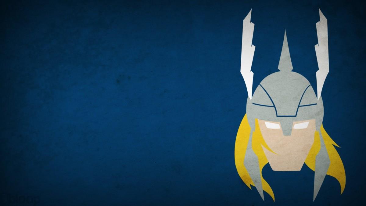 Geek tapeta na pulpit Thor