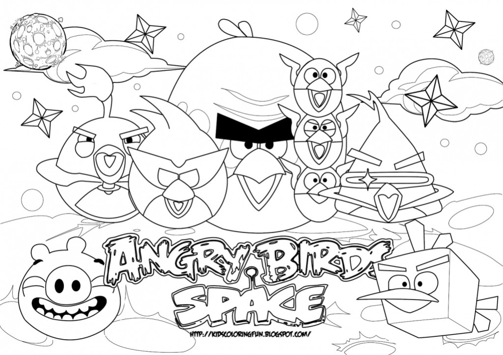 Coloring Pages Angry Birds Coloring For Kids Onlinecoloring For Angry Birds Space Coloring Pages Free Angry Birds Space Coloring Pages Free