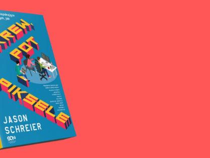"""Crunch, pot i gry wideo - recenzja książki """"Krew, pot i piksele"""""""