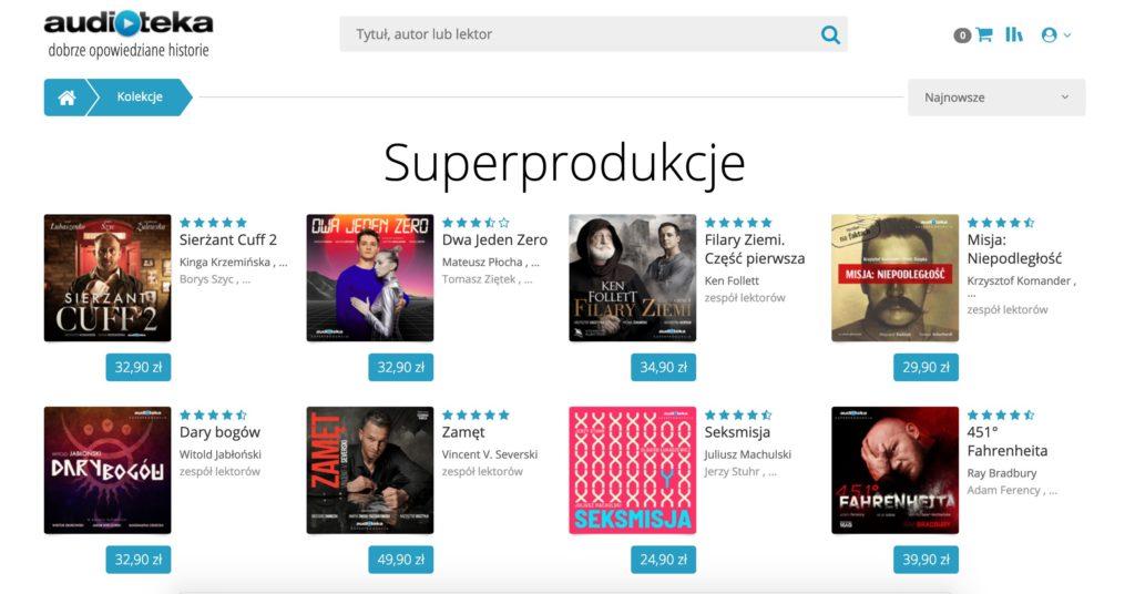 Audioteka - aplikacja do słuchania audiobooków