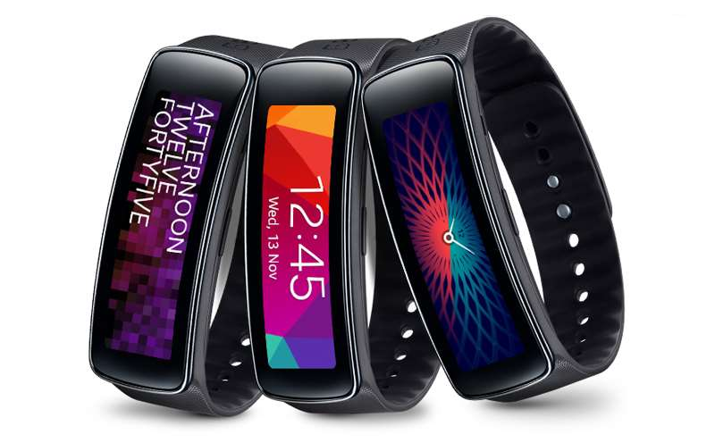 Opaska Samsung Galaxy Fit, posiadająca funkcję monitorowania snu