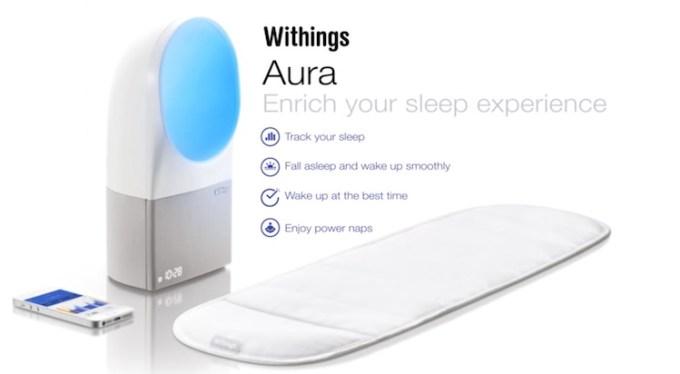 Monitorowanie snu - Withings Aura